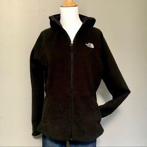 North Face Lightweight Fleece Zip Up with Hood